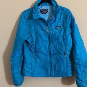 Women's Patagonia nano puff jacket blue xs